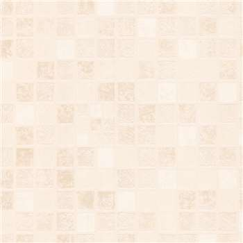 Contour Beige Earthen Wallpaper, Ivory
