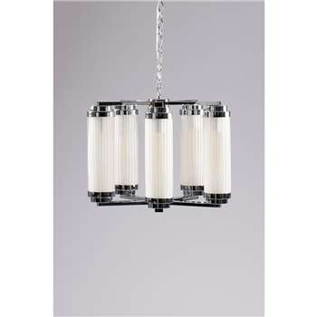 Conway Five Light Pendant (H106 x W55 x D55cm)