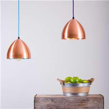 Cooper Hand Spun Copper Head Lamp Pendant Light (Diameter 20cm)