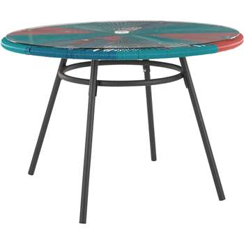 Copa Garden DInIng Table, Multi (76 x 110cm)