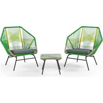 Copa Outdoor Aperitif Set, Citrus Green (90 x 89cm)