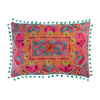 COPIACO cotton cushion, multicoloured (30 x 50cm)