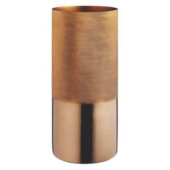 Copper Copper vase (27 x 12cm)