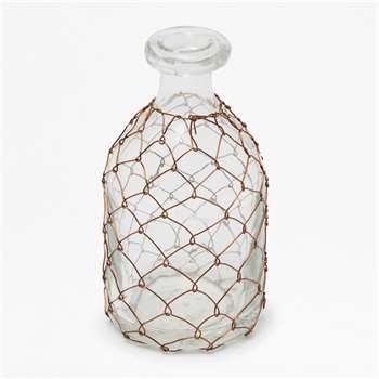 Copper Wire Bottle Small (15 x 8cm)