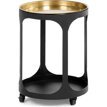 Cora Drinks Trolley, Brass (58 x 41cm)