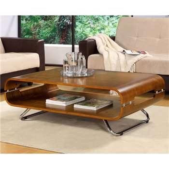 Corsair Walnut Coffee Table (40 x 118cm)