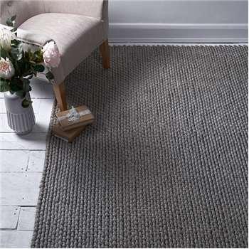 Cosmo Wool Rug Grey Medium (H230 x W160cm)