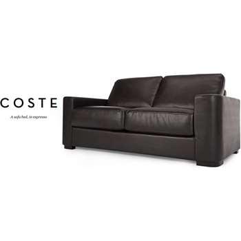 Coste Sofa Bed, Espresso Brown (86 x 177cm)