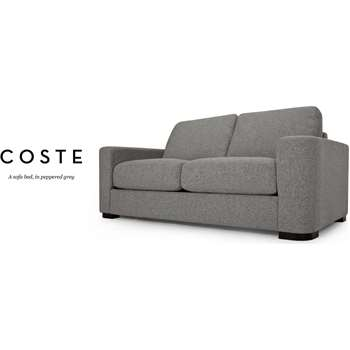 Coste Sofa Bed, Peppered Grey (86 x 177cm)