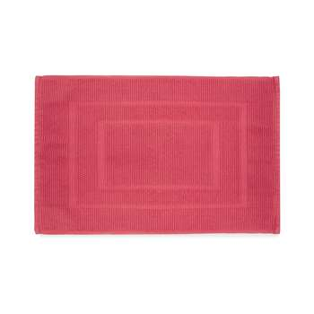 Cotton Bath Mat Pink Grapefruit (H50 x W80cm)