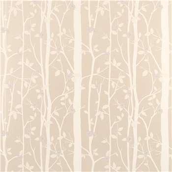 Cottonwood Natural Leaf Wallpaper