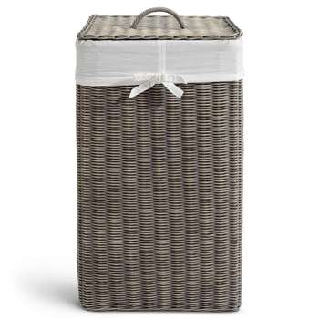 Country Square Laundry Bin (H63 x W35 x D35cm)