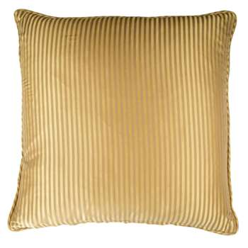 Cravat Cushion - Gold (45 x 45cm)