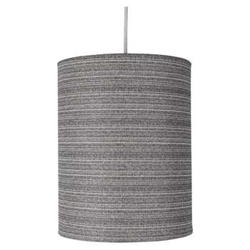Creek Pendant Light Shade Grey (H25.5 x W20 x D20cm)