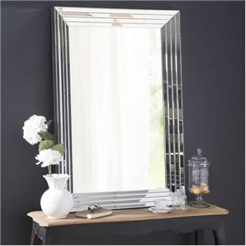 CRISTALLIN bevelled mirror (120 x 80cm)