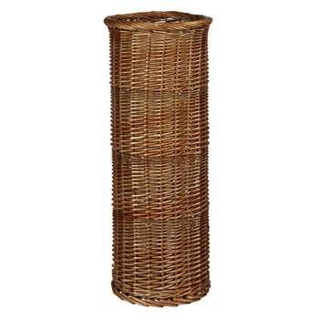 Croft Collection Wicker Umbrella Stand (59 x 26cm)