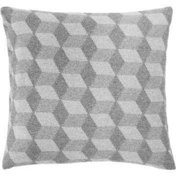 Cubus Cushion, Grey (H50 x W50cm)