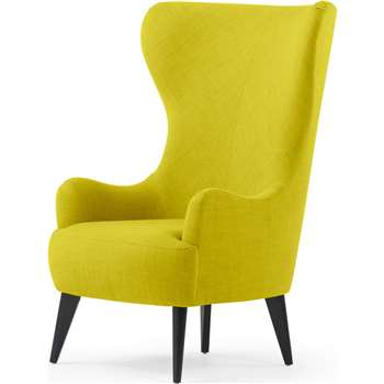 Custom MADE Bodil Accent Chair, Light Moss (H82 x W117cm)