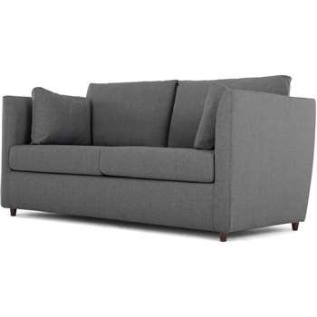 Custom MADE Milner Sofa Bed with Memory Foam Mattress, Night Grey (H83 x W170 x D92cm)