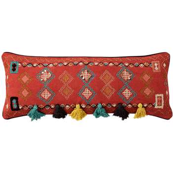Cuzco Bolster Cushion Cover - Multi (35 x 90cm)