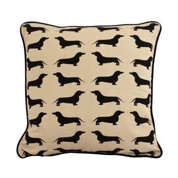 Dachshund Cushion (39 x 39cm)