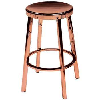 Dan-Form Copper Plated Bar Stool (Height 60cm)