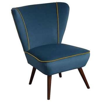 Daphne Chair - Aegean Blue (84 x 72cm)