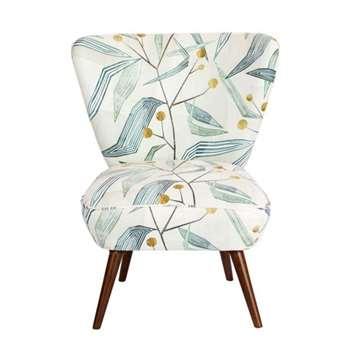 Daphne Chair – Entity Emerald (H84 x W72 x D80cm)