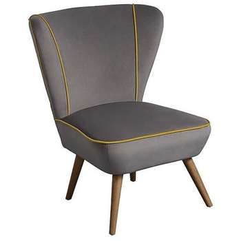 Daphne Chair - Mid Grey (84 x 72cm)