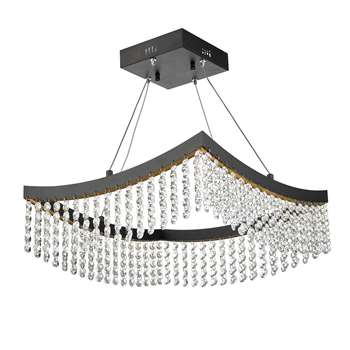 Dar Azalea LED Ceiling Light (H100 x W42 x D42cm)