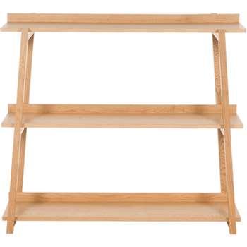 Darcey Low Shelves, Oak (98 x 110cm)