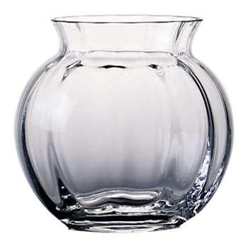 Dartington Crystal Florabundance Anemone Posy Vase (Height 12.5cm)