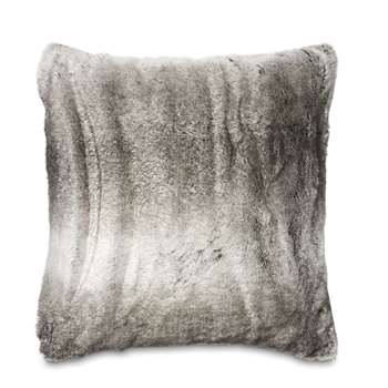Dartmoor Grey Faux Fur Cushion (58 x 58cm)