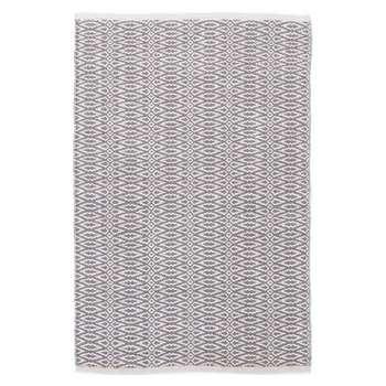 Dash & Albert - Fair Isle Rug - Grey Platinum (H183 x W122cm)