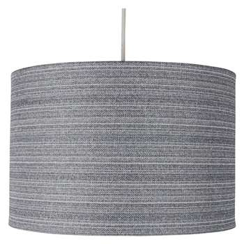 Dawson Pendant Light Shade Grey (H20 x W30 x D30cm)