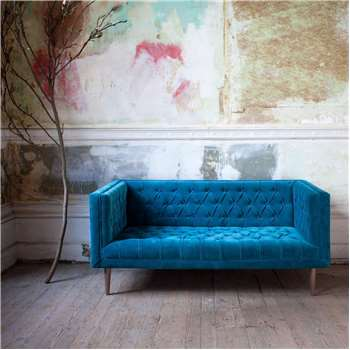 Dax Buttoned Sofa (H66 x W150 x D81cm)