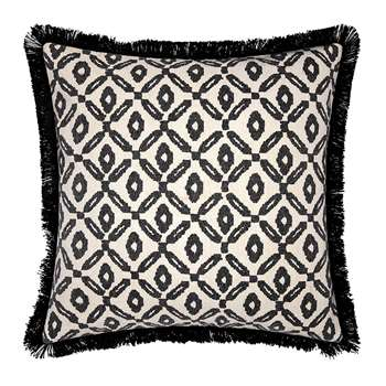 Day Birger Et Mikkelsen - Diamond Print Cushion Cover - Black/White (H50 x W50cm)