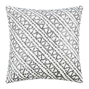 Day Birger Et Mikkelsen - Tiny Mirror Cushion Cover - White (H50 x W50cm)