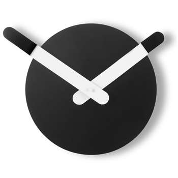 Day & Night Wall Clock, Black & White (Diameter 25cm)