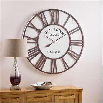 Dayton Wall Clock (Diameter 100cm)