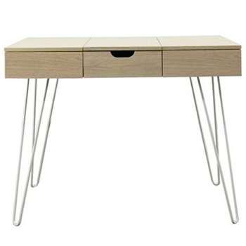 Debenhams - Cosmo Dressing Table (H77 x W95 x D51cm)