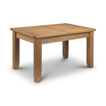 Debenhams Oak arlington Extending Table, Light Brown (78 x 180cm)