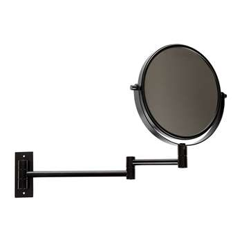 Decor Walther - SPT 33 Cosmetic Mirror - Matt Black (46 x 29.5cm)