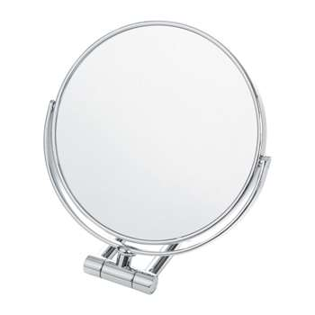 Decor Walther - SPT 50/X Cosmetic Mirror - Chrome - 10x Magnification (21.5 x 19cm)