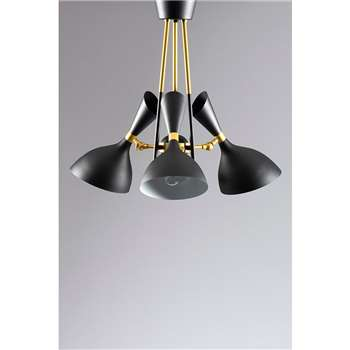 Delano Three Light Pendant (H54 x W52 x D52cm)