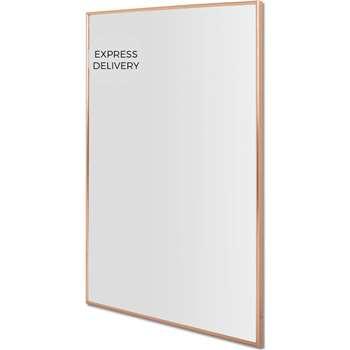 Denver Wall Mirror, Copper (H100 x W70 x D3cm)