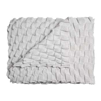 Design House Stockholm - Curly Throw - Off White (H170 x W80cm)