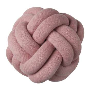 Design House Stockholm - Knot Cushion - Pink (H30 x W30 x D16cm)