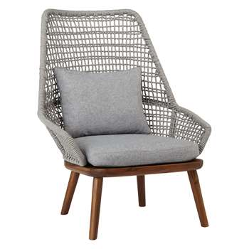 Design Project by John Lewis No.096 Lounging Armchair, FSC-Certified (Acacia) (92 x 76cm)