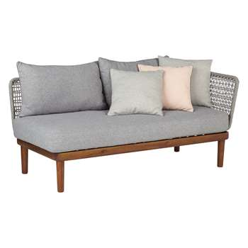 Design Project by John Lewis No.096 Lounging One Arm Sofa, FSC-Certified (Acacia) (70 x 157cm)